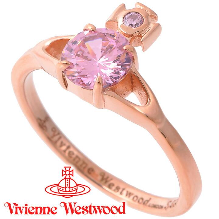 ヴィヴィアンウエストウッド リング 指輪 レディース Vivienne Westwood ヴィヴィアン レイナプチリング ピンクゴールド SR1402/3 【あす楽】