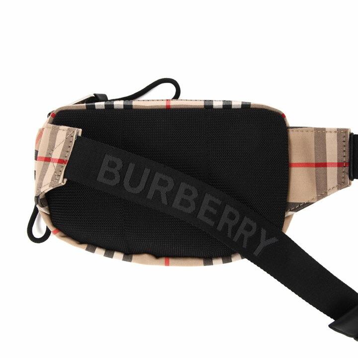 バーバリー ボディバッグ BURBERRY ウエストバッグ バムバッグ メンズ レディース チェック ヴィンテージチェック 8014420 【お取り寄せ】【送料無料】