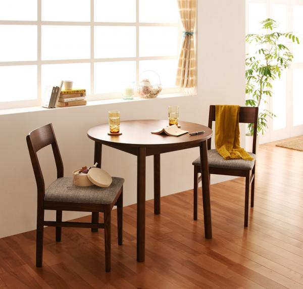 Ii kaguyahime rakuten global market dining set round tables table 2 people for 3 piece set - Two person dining table set ...