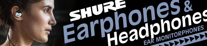 SHURE EAR MONITORPHONE
