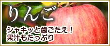 りんご シャキッと歯ごたえ!果汁もたっぷり