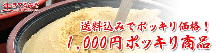 1000円ポッキリおすすめ商品