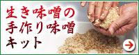 生き味噌の手作り味噌キット