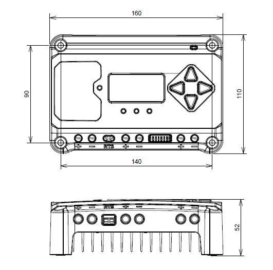 チャージコントローラーEC-10