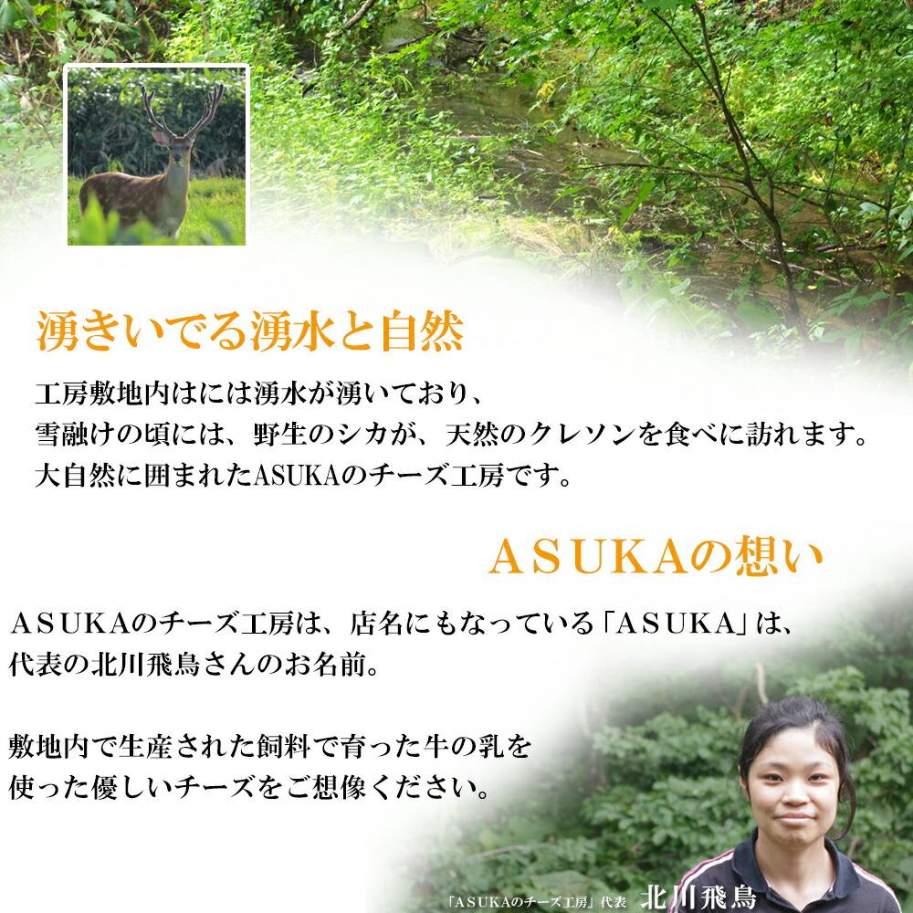 ASUKAのチーズ工房紹介