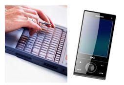 PCと携帯