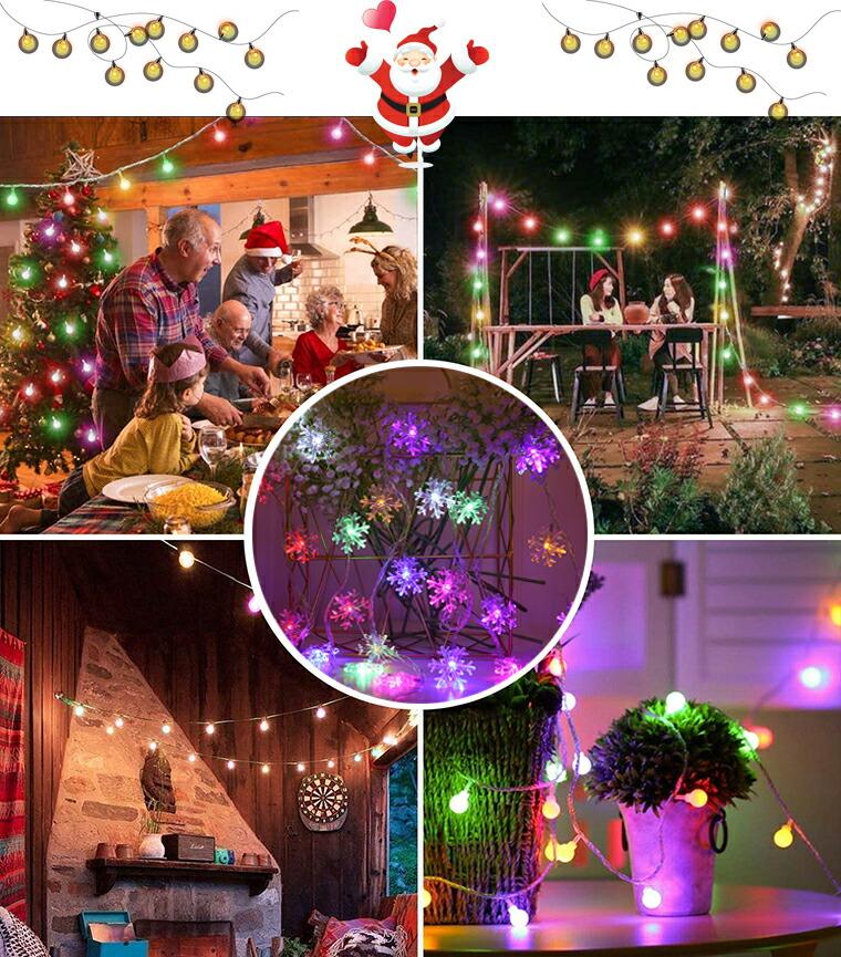 クリスマス ガーランド ライト