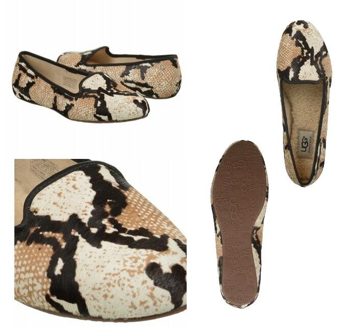 666c8926da4 ▼ latest models in stock now down: / UGG Australia ALLOWAY EXOTIC Alloway  exotic Opera shoes Leopard pattern zebra pattern 1003491 flat Shearling ...