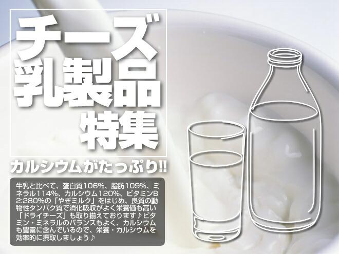 チーズ・乳製品特集
