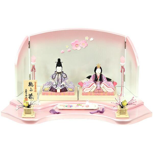 雛人形木目込み人形飾りメイン