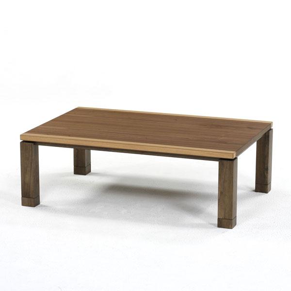 4701cacd1d8 こたつ 長方形こたつ 家具調こたつ 120×80 ウォールナット  いおり M 120   おしゃれな 継脚 高さ調節 継ぎ足 こたつ本体 こたつテーブル リビングテーブル 人気提案