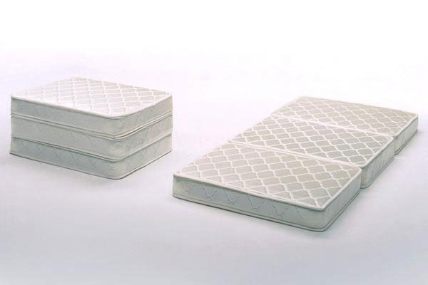 Ill Tri Fold Mattress Double Ivory D Size Rakuten