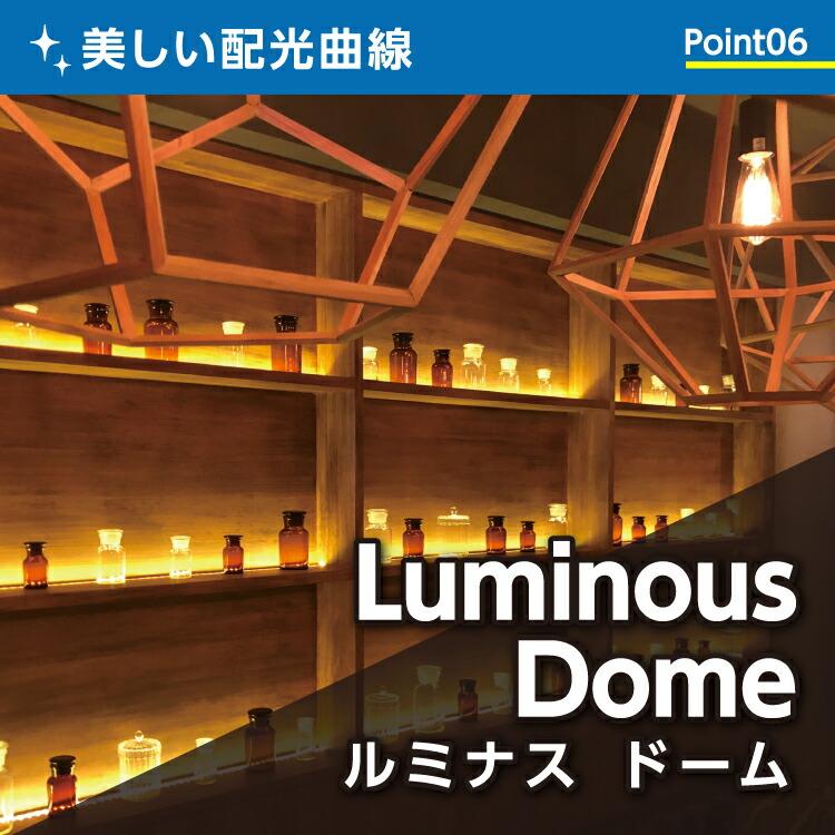美しい配光曲線 ルミナスドーム