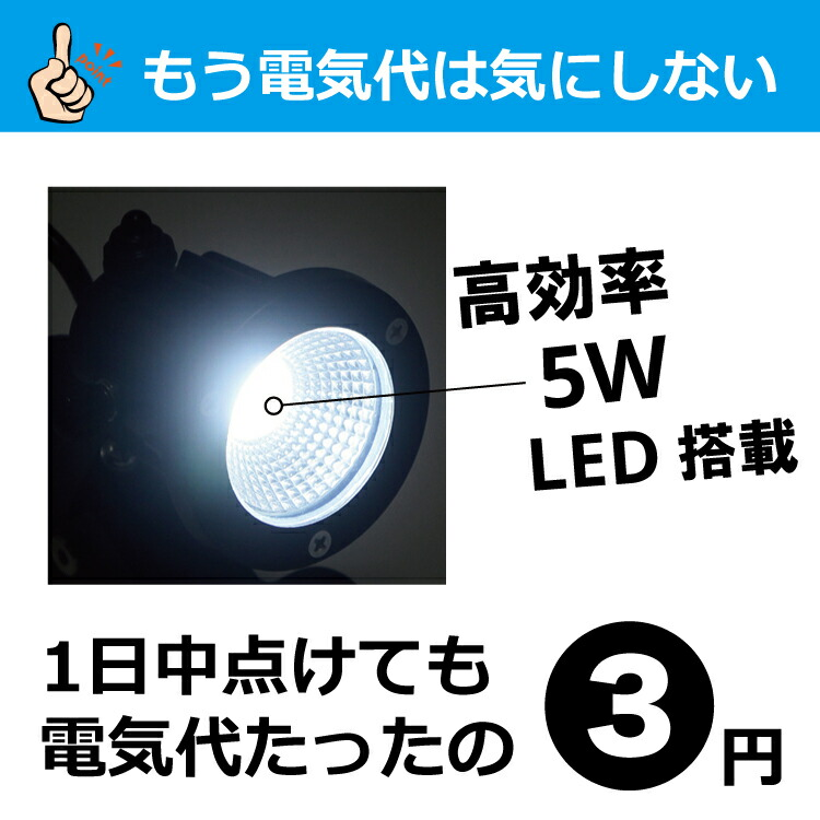 ledだから電気代が安い