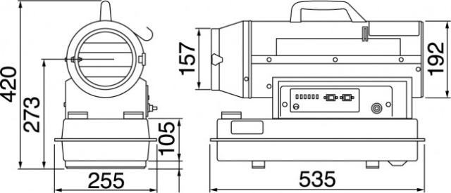 静岡製機 熱風オイルヒーター 30RS