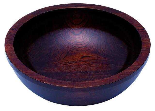 拭き漆 こね鉢 A-1530