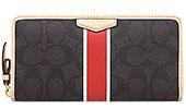 536f9b4ffa0f 楽天市場】コーチ COACH 財布 長財布 F51234 ブラウン×バーミリオン 特別 ...