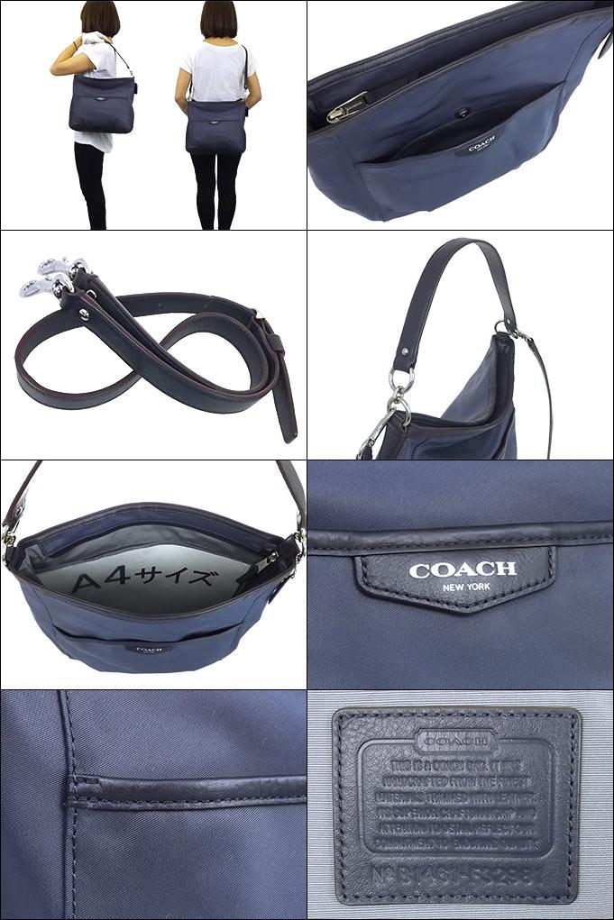 192b17a9e657 コーチ COACH☆バッグ(ショルダーバッグ)F32981 32981 ネイビー ナイロン コンバーチブル ショルダー バッグ アウトレット品