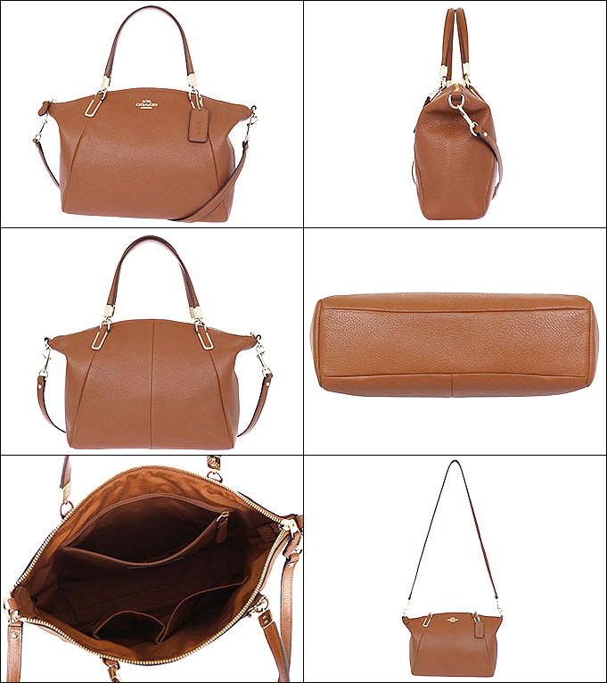 0bf0f5ef436d ... ireland coach coach bags handbags f34493 34493 saddle luxury pebbled  leather small kelsey satchel outlet products
