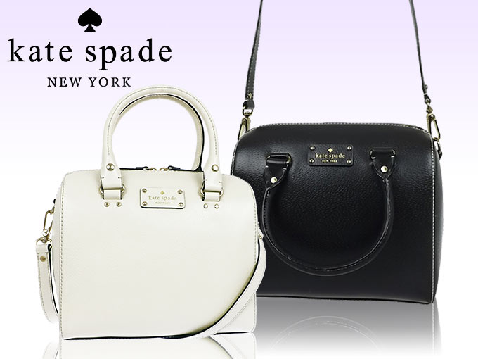Kate Spade Bags Handbags Wkru1743 Black Alessa Wellesley Leather Satchel Outlet Products