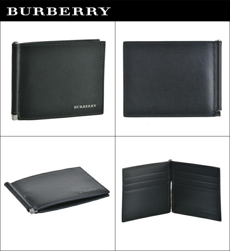 purchase cheap d9b2e 8e6d8 バーバリー/BURBERRY 財布 メンズ LONDON LEATHER 2つ折り財布 ブラック 4016529|Import Brand Grace