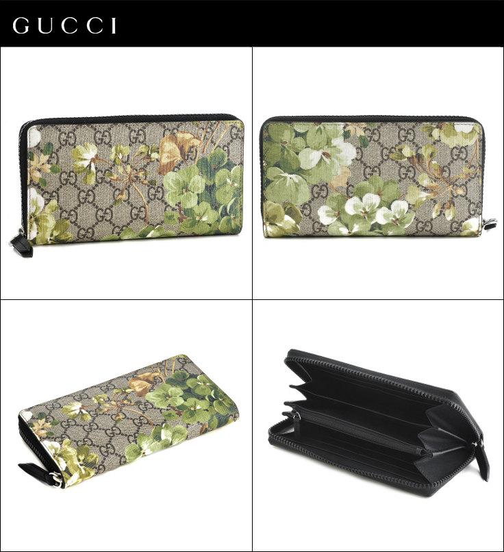 wholesale dealer 43477 e8c52 グッチ/GUCCI 財布 メンズ Men'S Gg Blooms ラウンドファスナー長財布 グレーベージュ×マルチカラー  408665-KU2HN-8966|Import Brand Grace