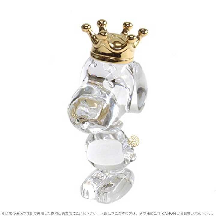 バカラ クリスタル スヌーピー 犬 2106262 Baccarat Snoopy King