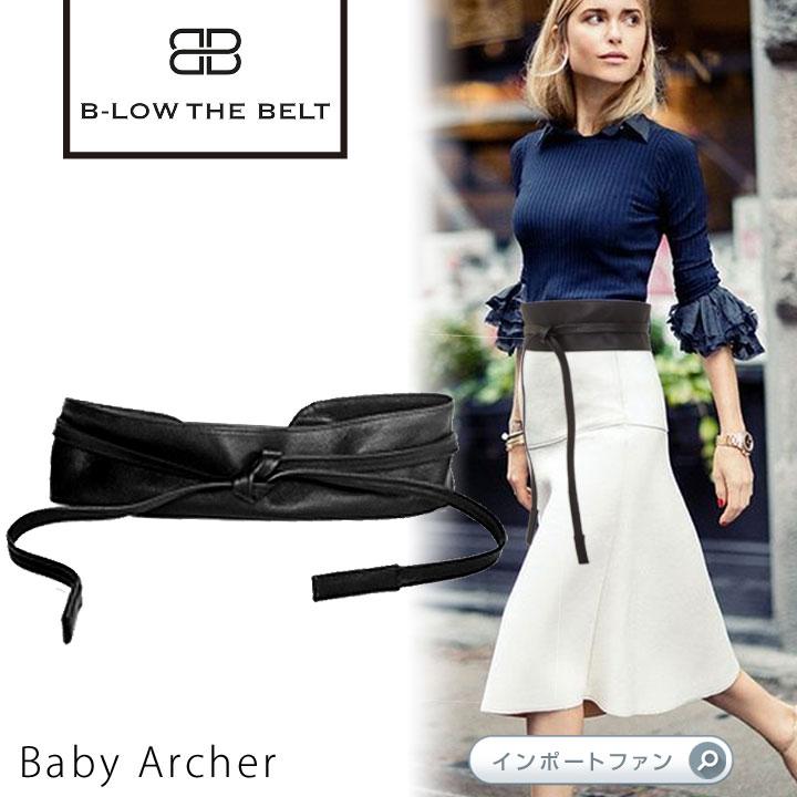 サッシュベルト Baby Archer B-low the belt ビーローザベルト セレブ ファッション 本革 レザー