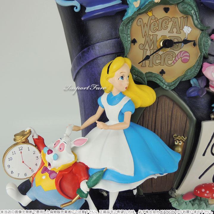 不思議の国のアリス アリス ワンダーランド 壁時計 鳩時計 ディズニー 123830001 Disney Mickey Mouse Through The Years Wall Clock