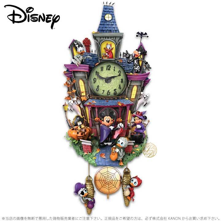 ミッキーマウス 壁時計 ハロウィン ディズニー 122176001 Disney Mickey Mouse Through The Years Wall Clock