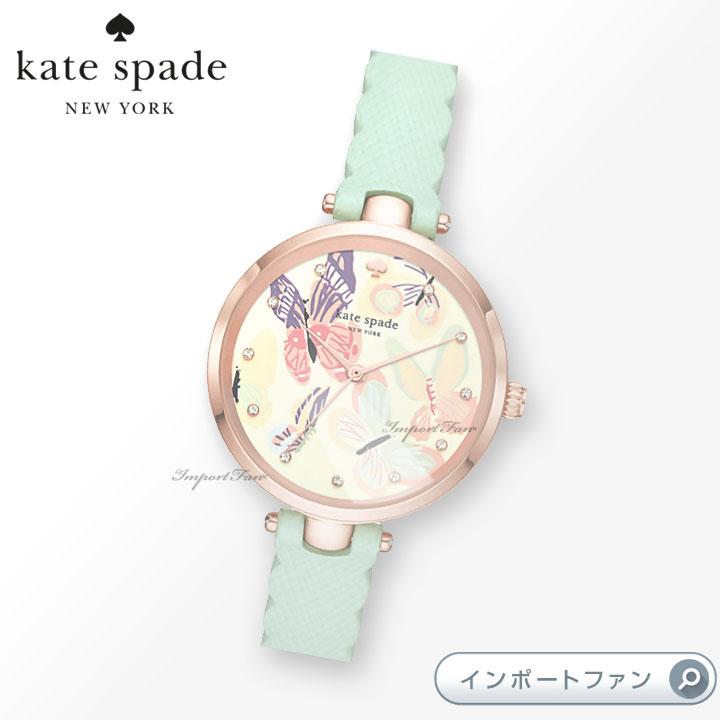KateSpadeケイトスペードパークロウカミングアップローズ腕時計ParkRowComingUpRoses