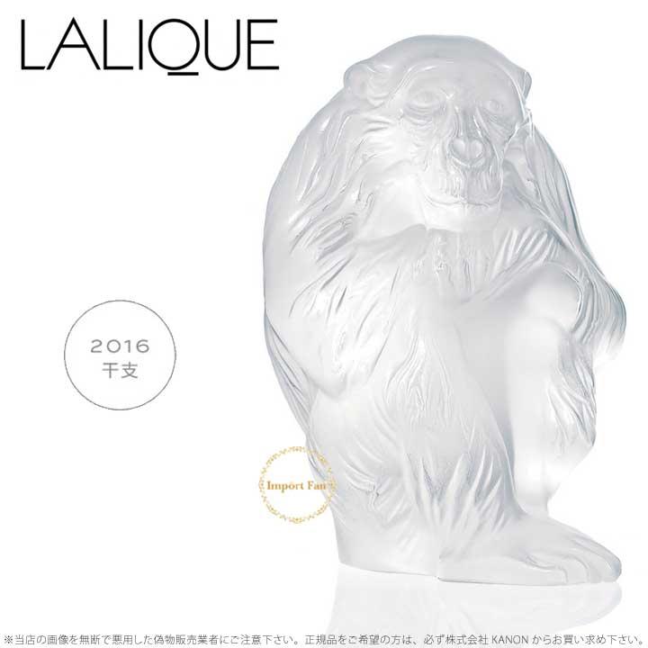 ラリック クリスタル 干支 申 サル モンキー 1400200 Lalique Monkey Chita