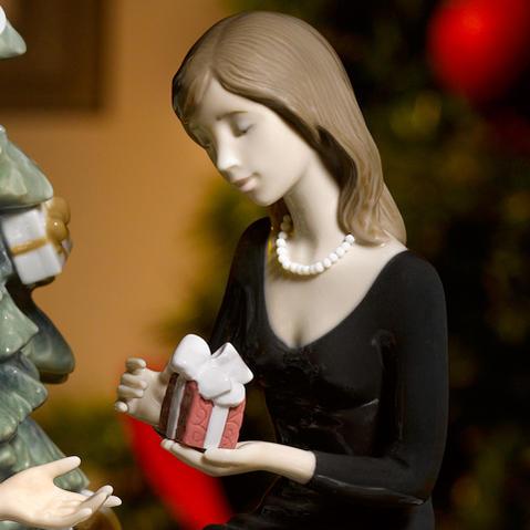 リヤドロ LLADRO ふたりのクリスマス 01008665