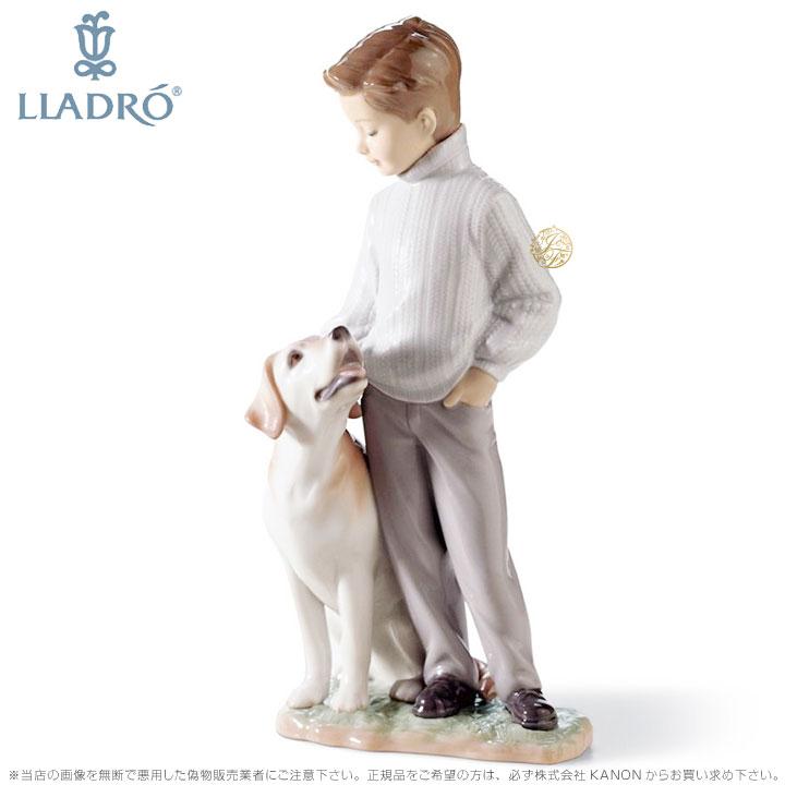 リヤドロ 僕の親友 少年 犬 ラブラドール レトリバー 0106902 LLADRO MY LOYAL FRIEND