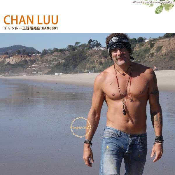 CHAN LUU チャンルー メンズ シルバーナゲット 5連ラップブレスレット