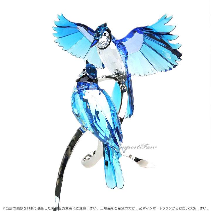 スワロフスキー Swarovski ブルー ジェイズ 鳥 Blue Jays 1176149 置物 アオカケス
