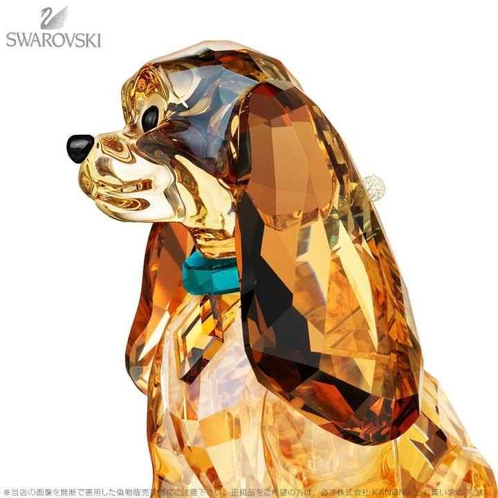 スワロフスキー Swarovski ディズニー わんわん物語 レディ 1089113