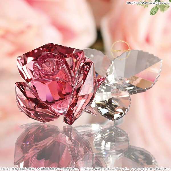 スワロフスキー Swarovski ブロッサミング ローズ ライトローズ 5094612 Blossoming Rose Light Rose