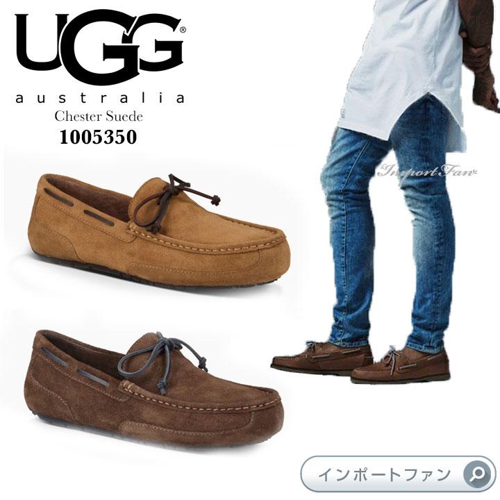 UGG アグ メンズ Chester Suede チェスター スエード  モカシン カジュアルシューズ 1005350