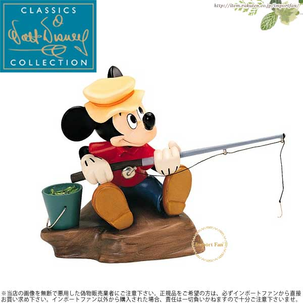 WDCC ミッキーの魚釣り Mickey Mouse Somethin Fishy The Simple Things
