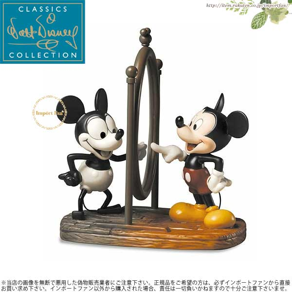 WDCC ミッキーマウス 今と前 Mickey Then and Now 1226333