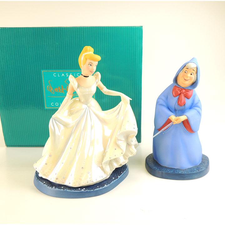 WDCC シンデレラ フェアリーゴッドマザー 魔法で変身 Cinderella & Fairy Godmother A Magical Transformation 1231051