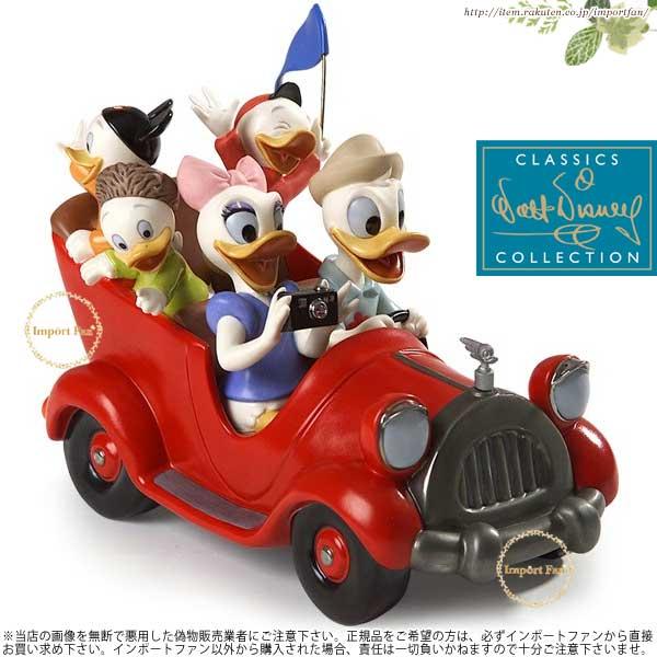 WDCC ドナルドダック デイジー ドナルドの甥家族旅行 Donald, Daisy And Donald Nephews Family Vacation