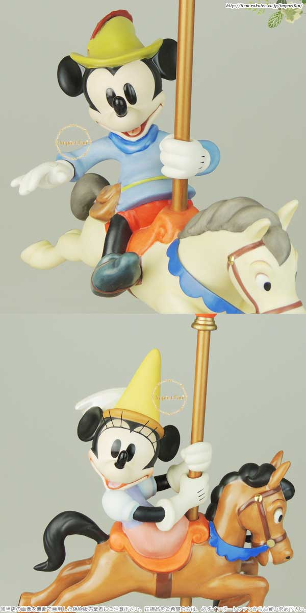 WDCC ミッキー ミニー ミッキーの巨人退治 カルーセル 4004836 Mickey and Minnie Mouse Carousel Sweethearts