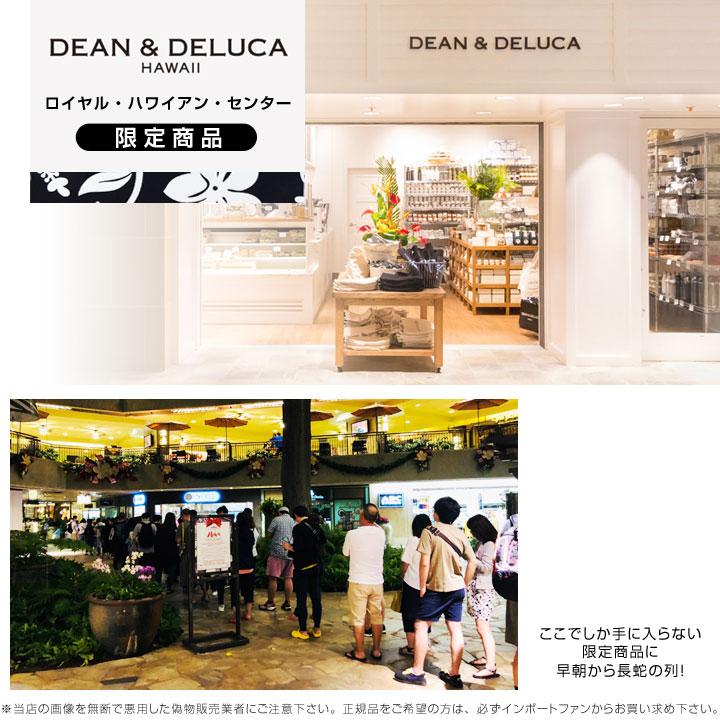 DEAN & DELUCA ロイヤル ・ハワイアン・センター 限定 ハイビスカス柄 スモール トート バッグ  ディーン & デルーカ