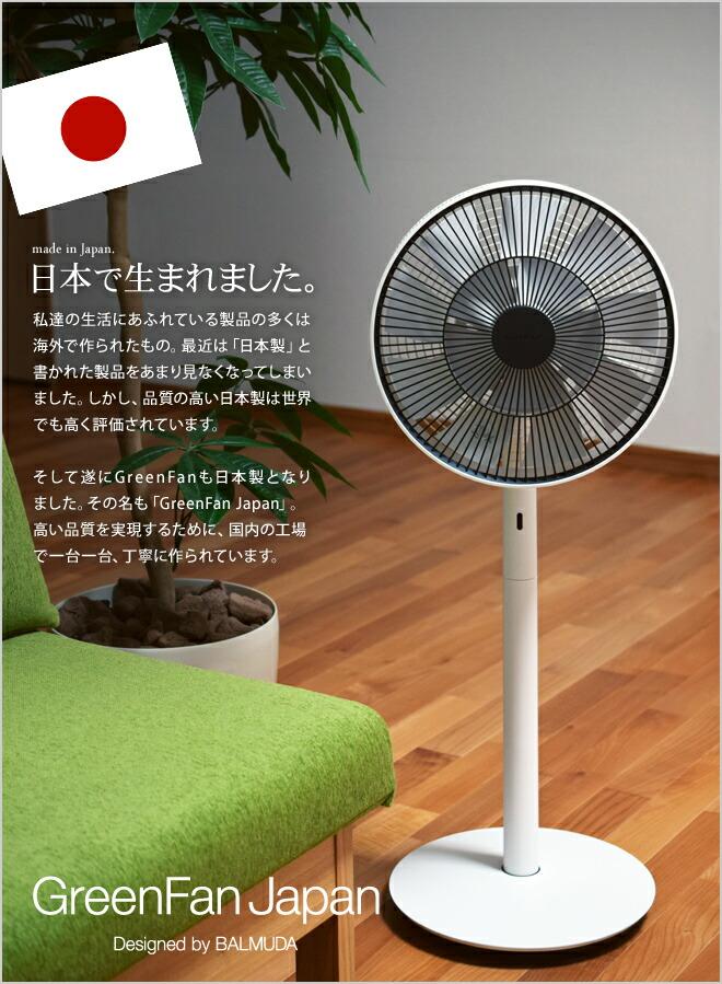 The GreenFanは日本で生まれました。