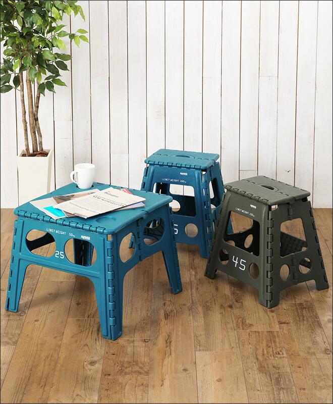 楽天市場 折りたたみテーブル スツール フォールディングテーブル