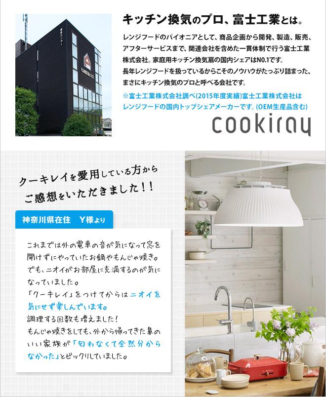 キッチン換気のプロ、富士工業とは。
