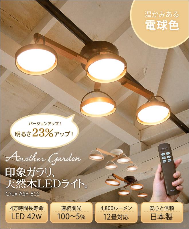【楽天市場】LEDライト 【温湿時計モルトのオマケ特典あり】 Slimac スライマック シーリングライト 4灯