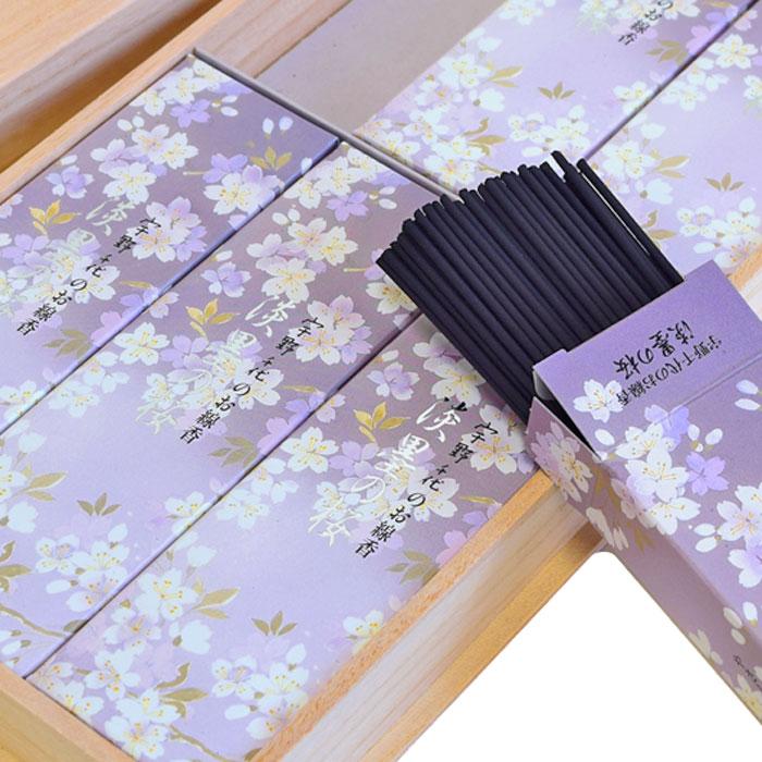 進物線香 淡墨の桜 6箱入り 送料無料